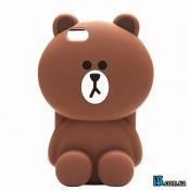 Чехол коричневый медвежонок  на Iphone 8 PLUS