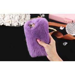 Чехол мех кролика на Iphone 7 PLUS