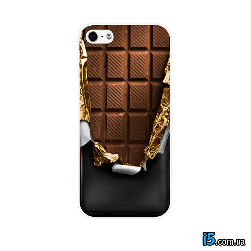 Чехол плитка шоколада на Iphone 8