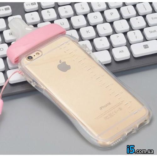 Чехол розовая соска на Iphone 8 PLUS