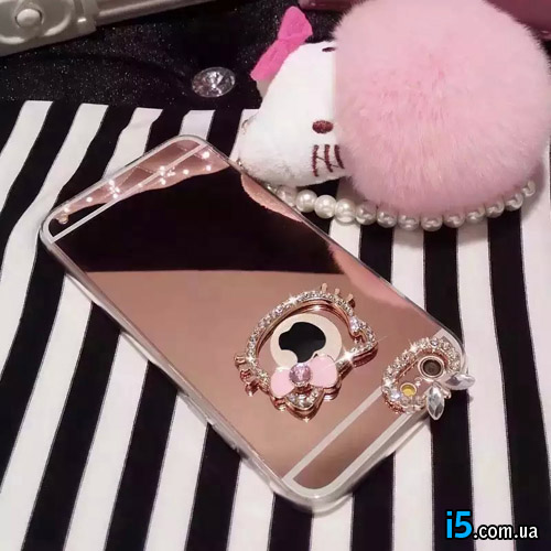 Чехол hello kitty со стразами  на Iphone 7 PLUS