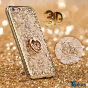 Чехол золотое кольцо на Iphone 8