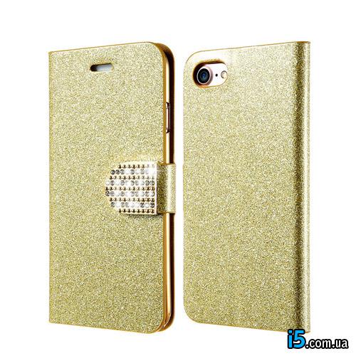 Чехол золотой песок на Iphone 7 PLUS