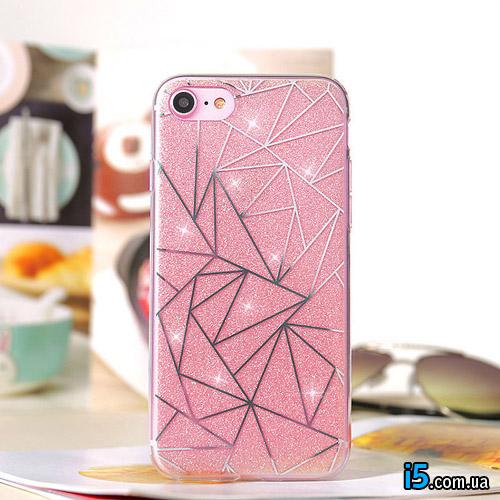 Чехол бриллиант на Iphone 8