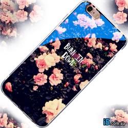 Чехол цветы на Iphone 7 PLUS