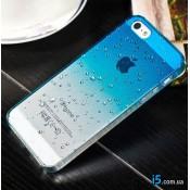 Чехол градиент на Iphone 7 PLUS