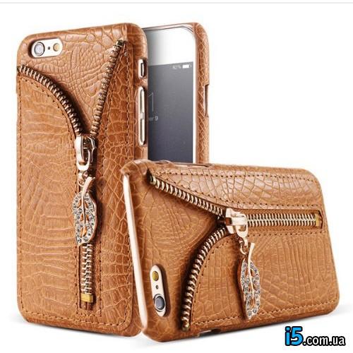 Чехол крокодиловая кожа на Iphone 7