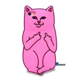Чехол кот Fuck you на Iphone 7 PLUS
