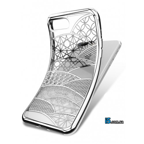 Чехол геометрические узоры на Iphone 8 PLUS