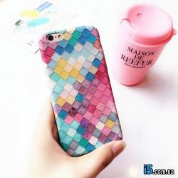 Чехол чешуя русалки на Iphone 7 PLUS