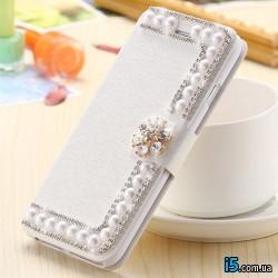 Чехол с жемчужинами на Iphone 7 PLUS