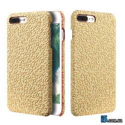 Чехол золотые вензеля на Iphone 8 PLUS