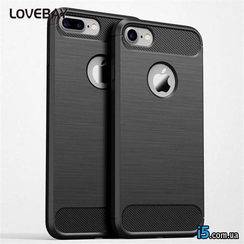 Чехол черный защитный на Iphone 6/6s plus