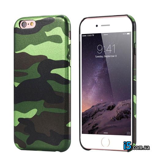 Чехол силиконовый Армия  на Iphone 8 plus