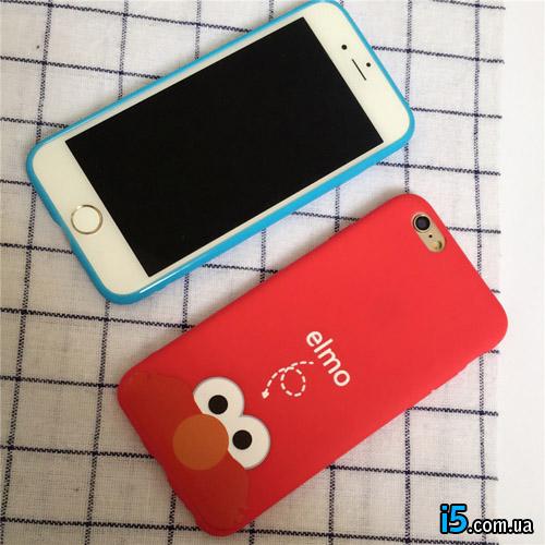 Чехол мультик Elmo на Iphone 8 plus