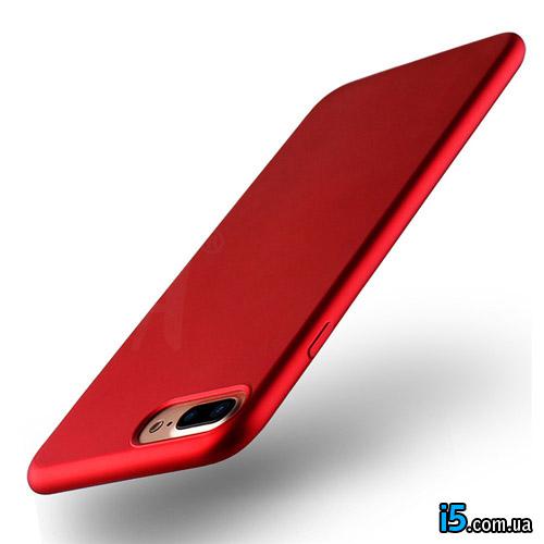 Чехол тонкий Red на Iphone 8