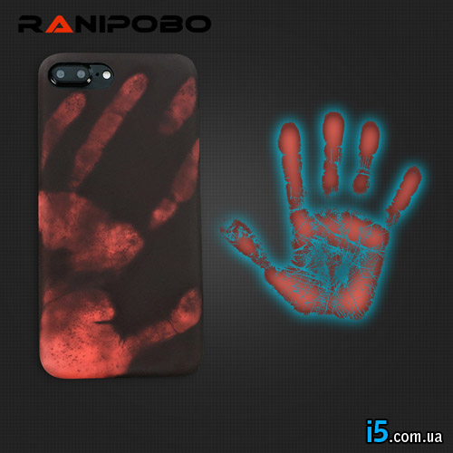 Чехол силиконовый Ладонь на Iphone 7