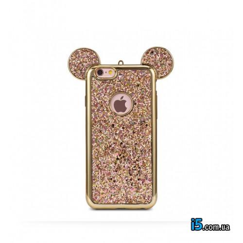 Чехол силиконовый Микки Маус на Iphone 6/6s