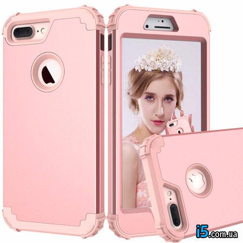 Чехол ударопрочный Розовый на Iphone 6/6s