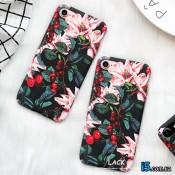 Чехол пластиковый Ягоды вишни на Iphone 7