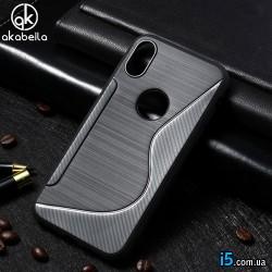 Чехол силиконовый Akabeila на Iphone X 10