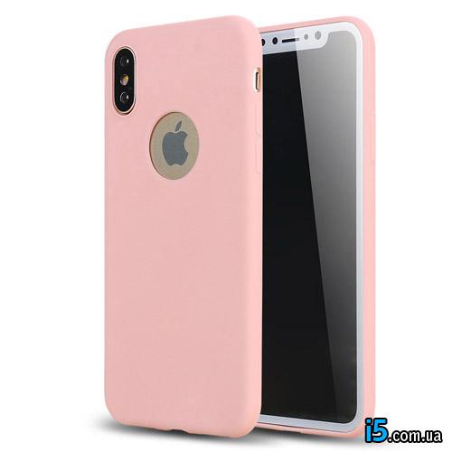 Чехол силиконовый Cuptakes на Iphone X 10