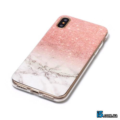 Чехол силиконовый Камень на Iphone X 10