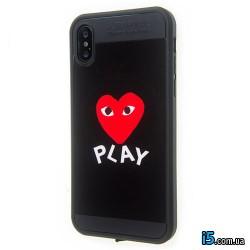 Чехол силиконовый Сердце на Iphone X 10