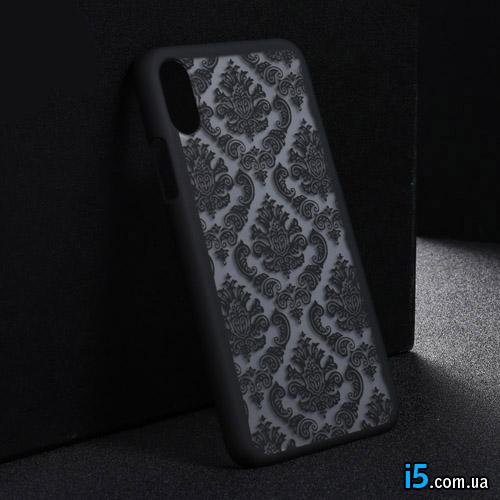 Чехол силиконовый Винтаж на Iphone X 10