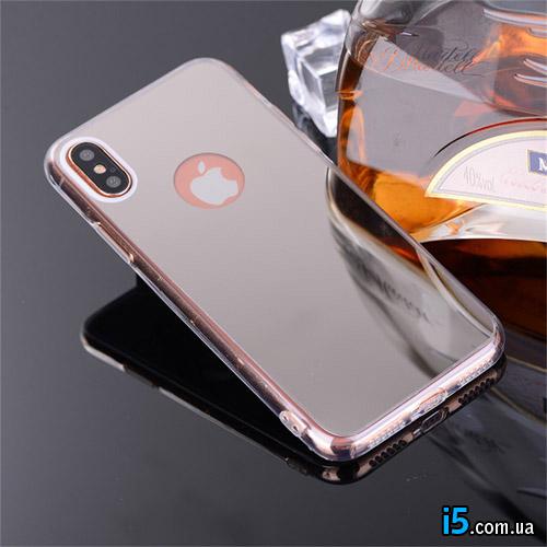 Чехол силиконовый Зеркало на Iphone X 10