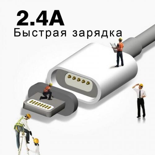 Магнитный кабель для iPhone WSKEN Official